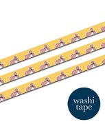 Gal -Yellow washi