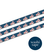 Gal - Dark Blue washi