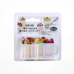 Bande | Writable Roll Sticker - BDA527 Drink