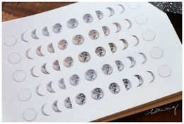 LCN | Print-on Stickers - Moon Phase