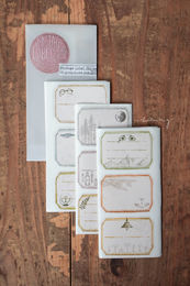 LCN | Vintage Lable Sticker Set
