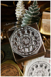 LCN | Lunar phase 50mm metal stamp