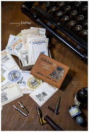 LCN | Gummed Label Set - Antique Company Blank