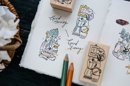 OURS Good Morning/Good Evening Stamp Set