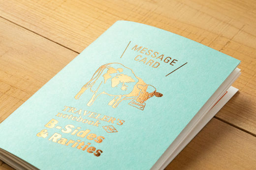 PREORDER: Traveler's Notebook Passport Size: Refill Message Card