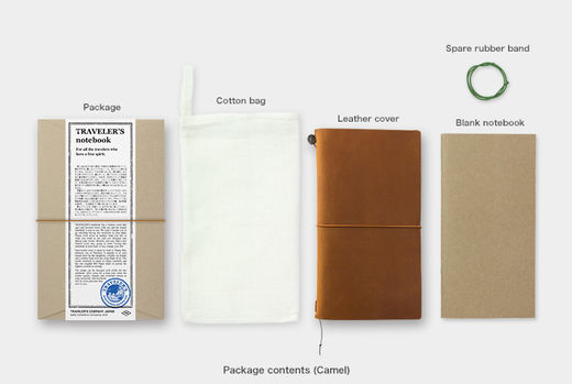 Traveler's Notebook Regular Size - Camel
