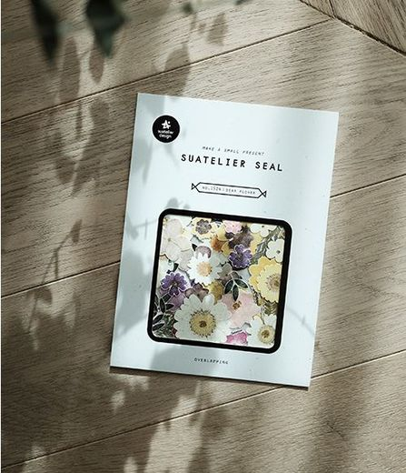 Suatelier Seal no. 1524 dear flower