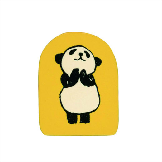 Wooden Stamp Panda lol