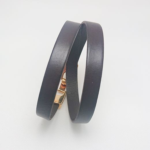 Bracelet Puro in Dark Brown