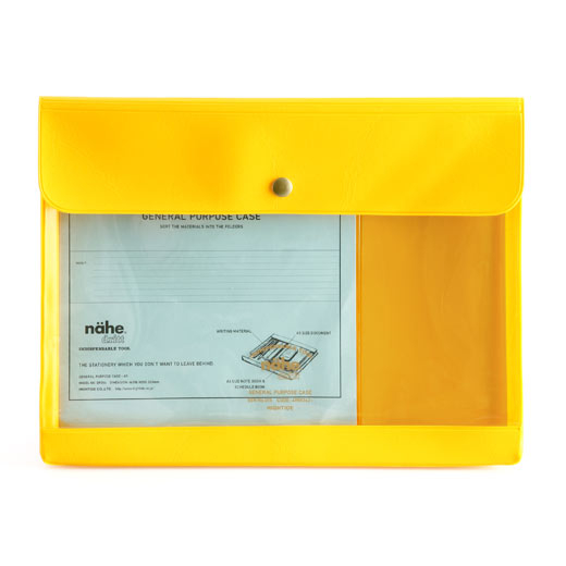 Nähe | General Purpose Case A5 Yellow