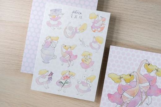Dodolulu | Alice in Wonderland - Sticker Sheet