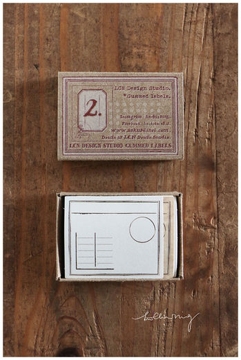 LCN | Gummed Label Set - Specimen Box No 2