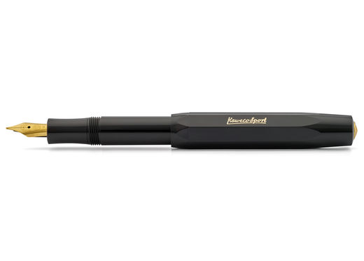 F 0.7 Kaweco CLASSIC Sport Fountain Pen Black