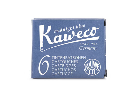 Kaweco Ink Cartridges 6 pieces Midnight Blue