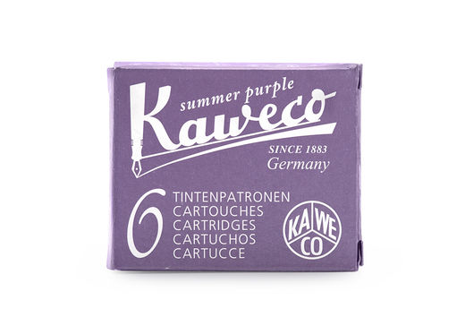 Kaweco Ink Cartridges 6 pieces Summer Purple