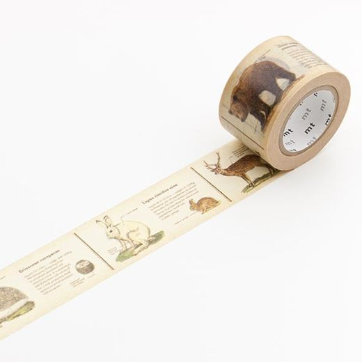 MT Masking Tape Encyclopedia Animal