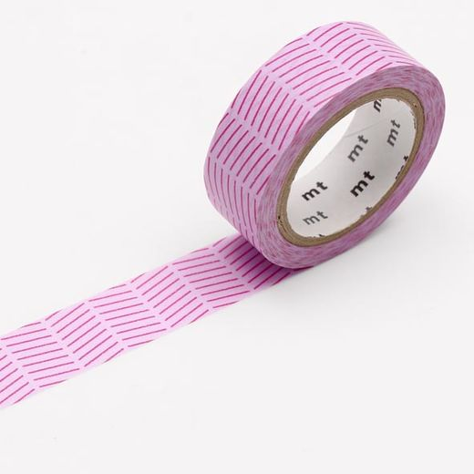 MT Masking Tape Diagonal Purple