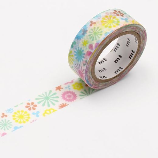 MT Masking Tape Spring Pattern