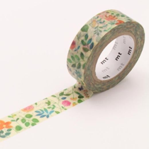 MT Masking Tape Watercolor Flower
