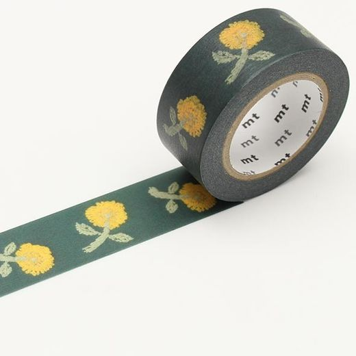 MT Masking Tape Minä Perhonen Yellow Flower