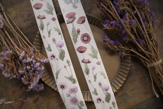 LOIDESIGN | 5 cm washi tape - Papaver