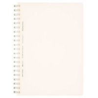 B6 Soft Ring notebook - Clear, dotted