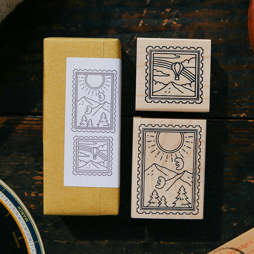 OURS Sunny Day Rubber Stamp Set