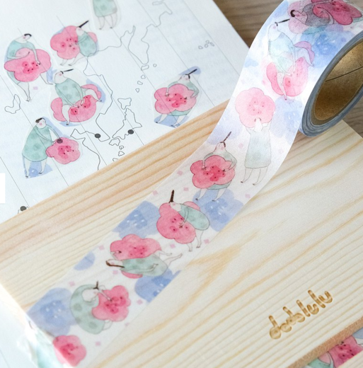 Dodolulu | Flowery Cloud  - Washi Tape