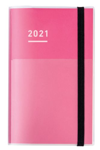 2021 Jibun Techo First Kit A5 slim - Pink