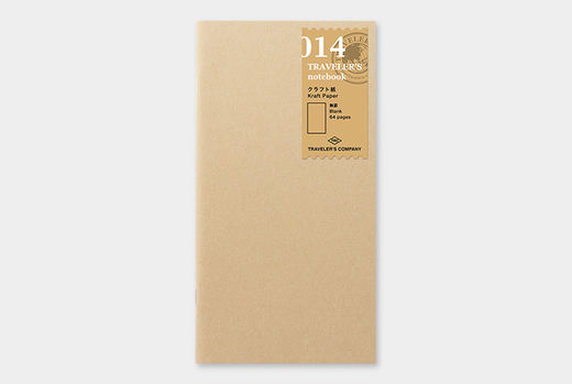 Traveler's Notebook | 014 Kraft Paper Refill Regular Size