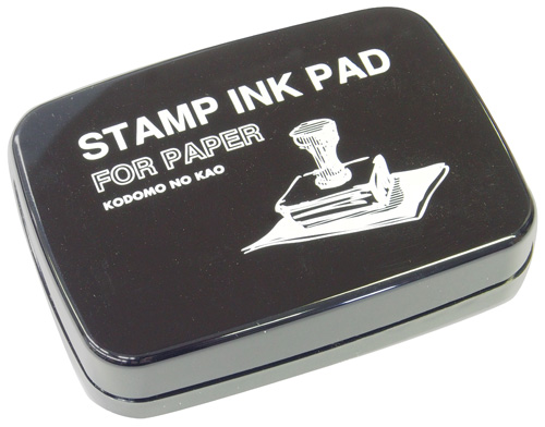 Stamp Ink Pad for Paper - Black