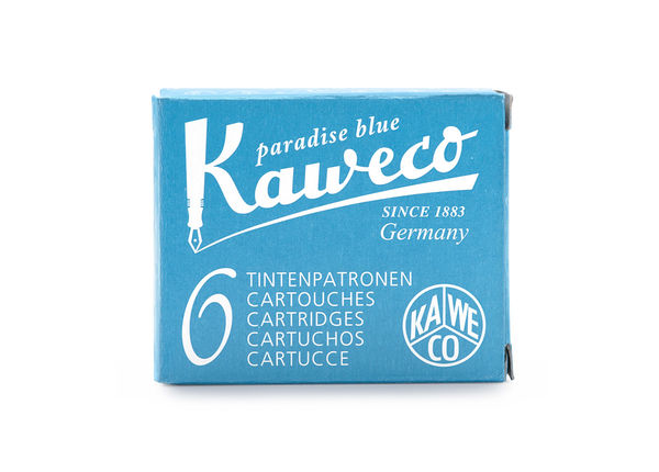 Kaweco Ink Cartridges 6 pieces Paradise Blue