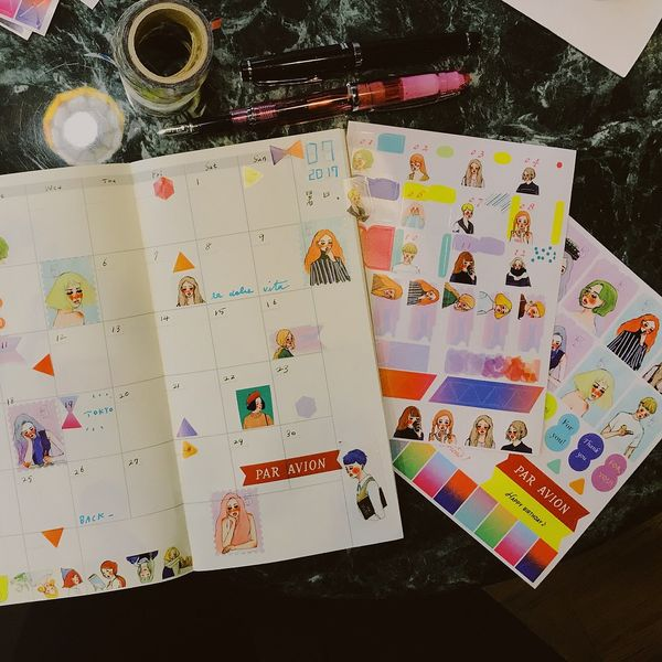 LDV Diary Stickers Two Sheets