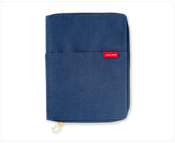 A5slim Notebook Cover Zipper